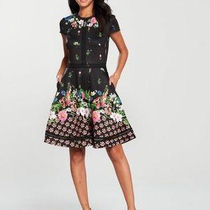 41a1e349254bb1 Ted Baker Dresses - Ted Baker Daissie Florence Trim Skater Dress